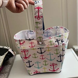 Thirty-One Carry-All Caddy with Anchor Design